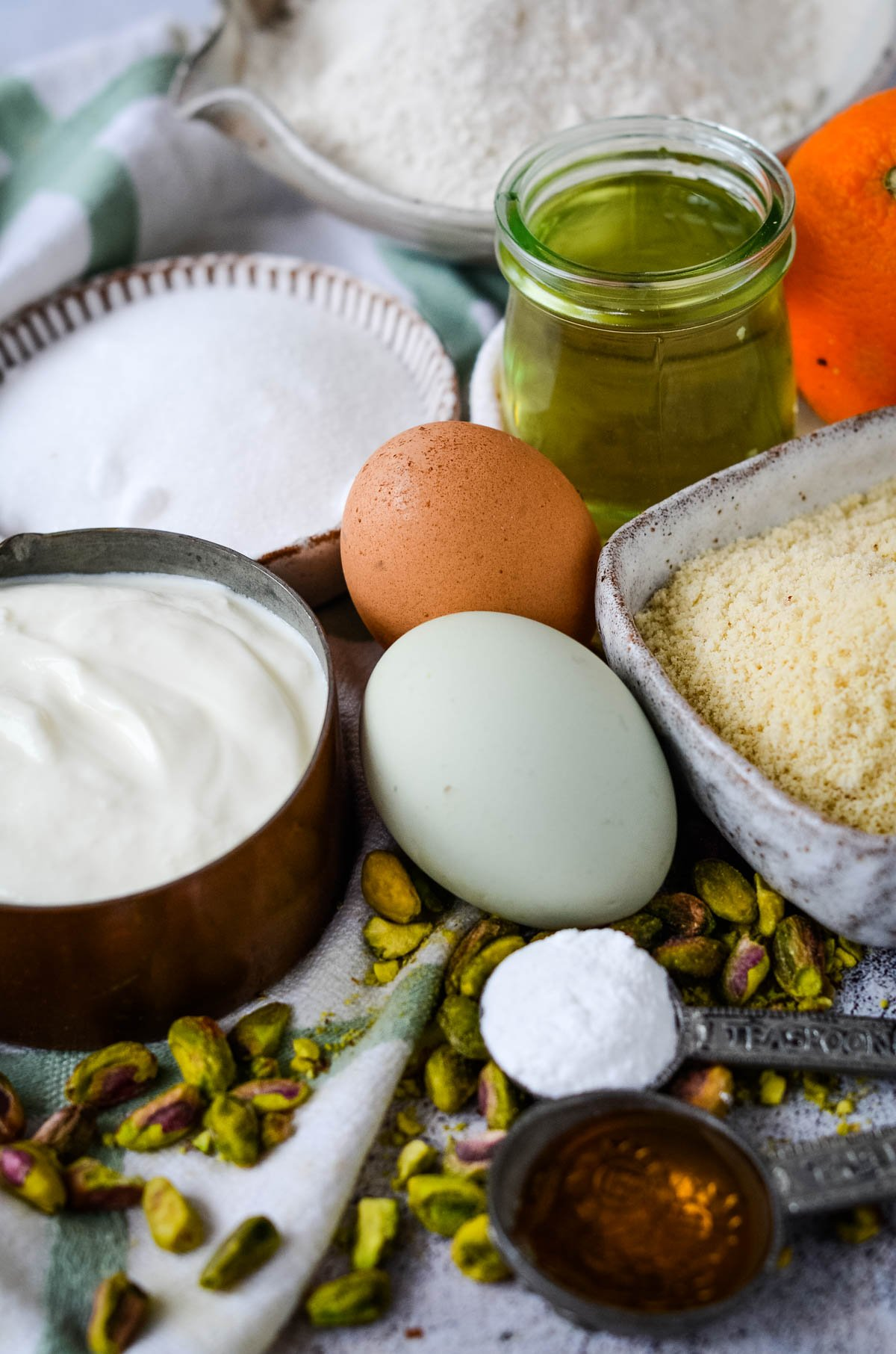 ingredients for yogurt cake