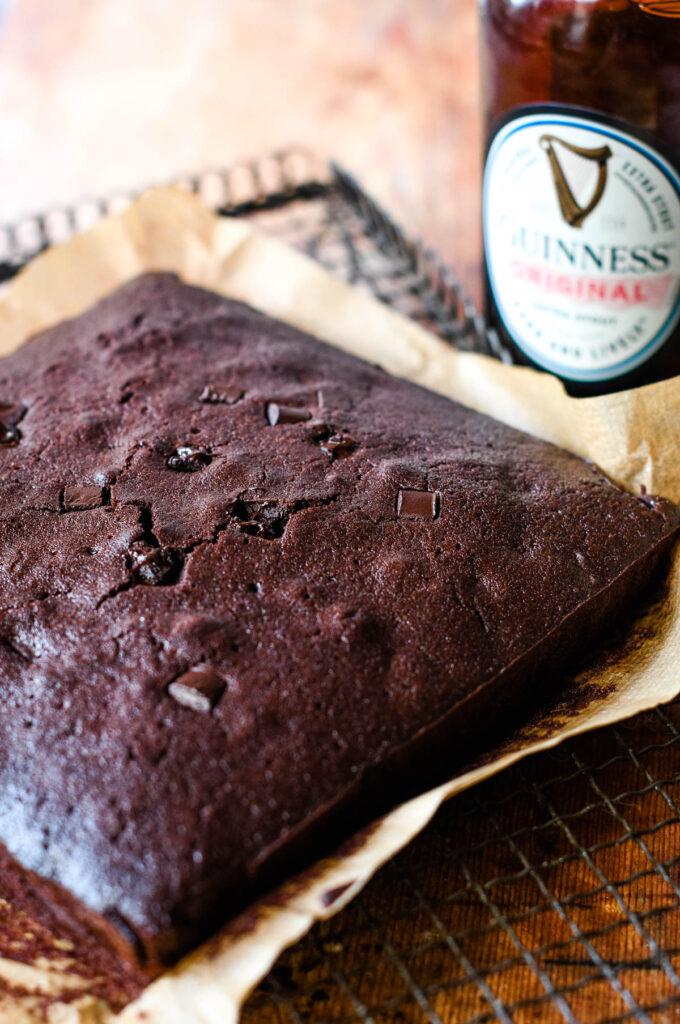 making the brownies