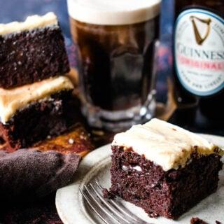 Guinness chocolate brownies