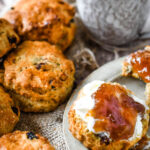 mixed fruit and nut scones pin image