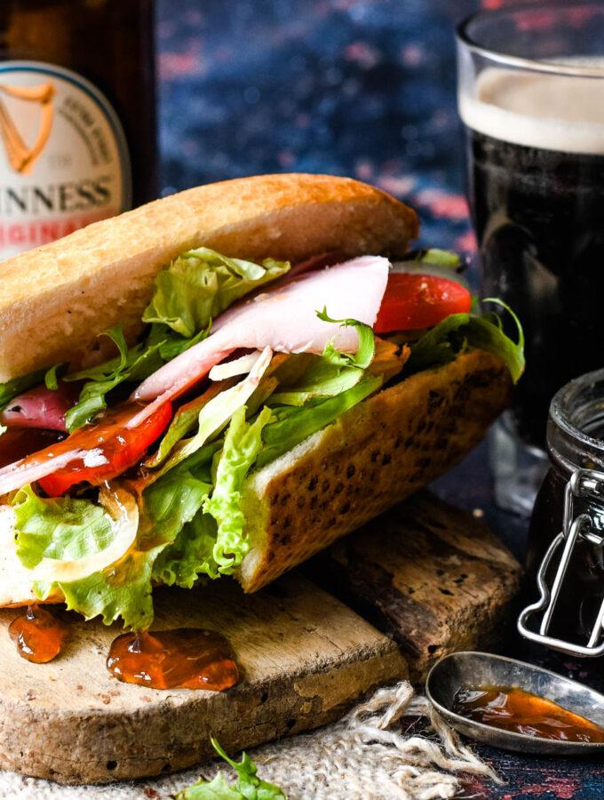 guinness jelly in sandwich