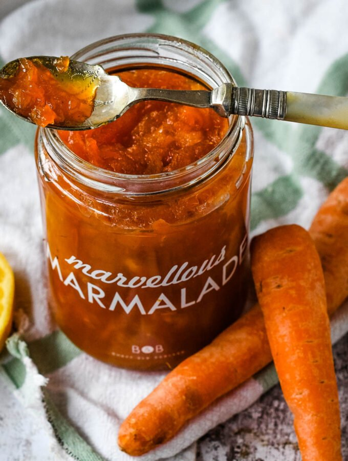 carrot and lemon marmalade