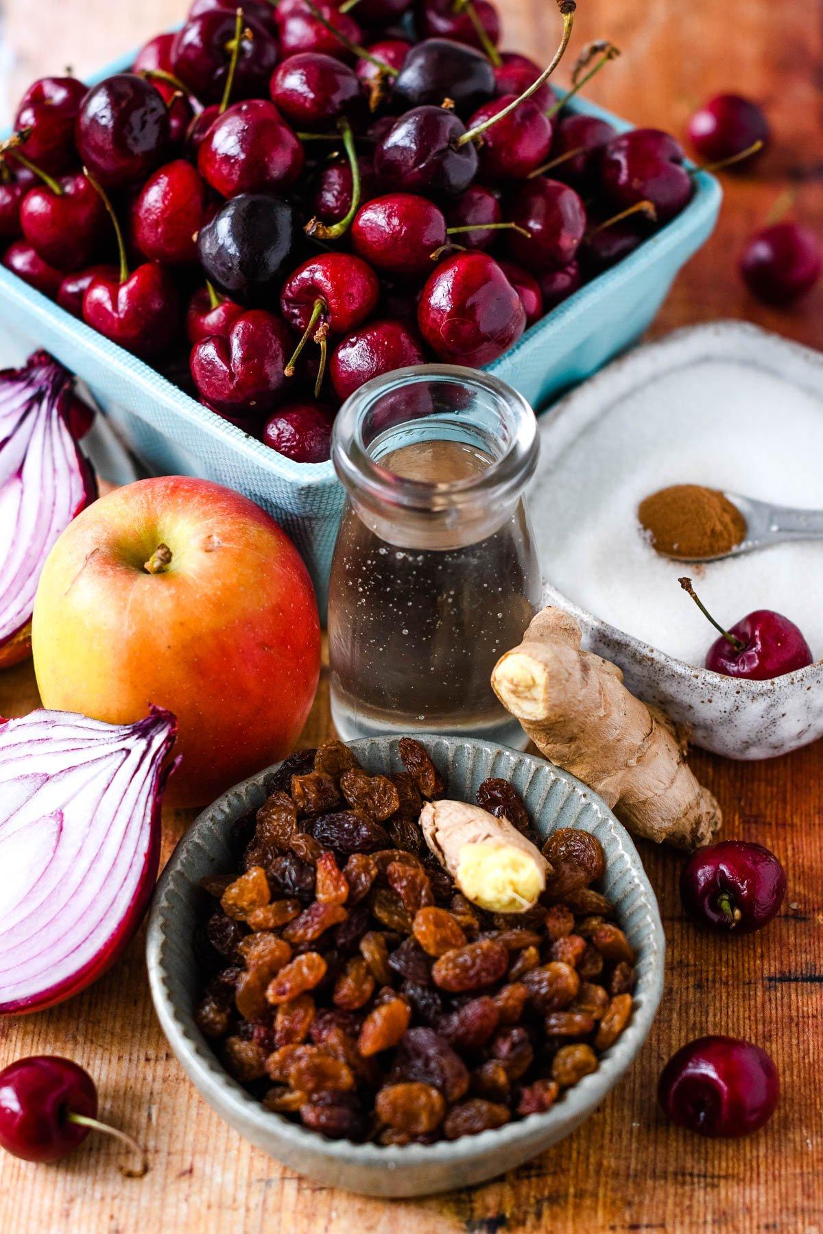 ingredients for chutney