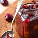spiced cherry chutney