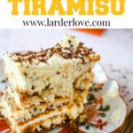 10 minute egg free tiramisu