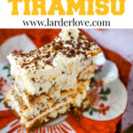 10 minutue egg free tiramisu
