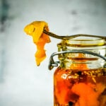 paprika roasted peppers in olive oil