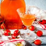 homemade rosehip syrup