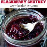 blackberry chutney