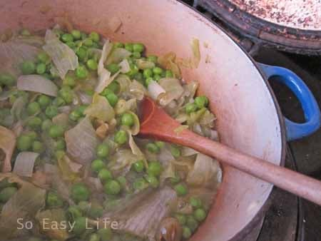 Spring pea soup 6